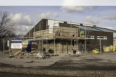 Photo of Church Hall Building Work